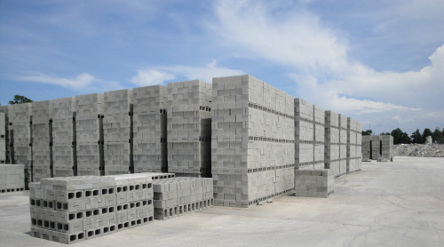 Specialty block and shapes carroll 39 s building materials for Building a concrete block house