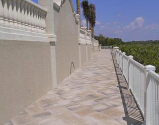 18 inch concrete patio stones