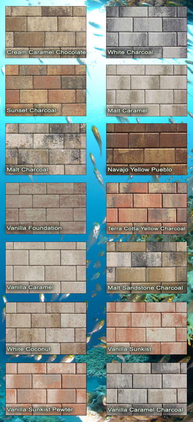 Patio Stone Available Colors