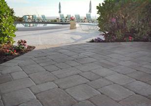 villa patio stones