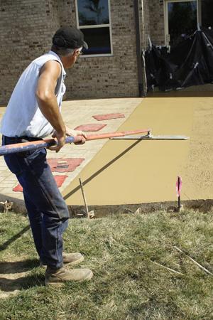 Online Car Sales >> DIY Concrete Guide: how to finish concrete, concrete floats, concrete edge