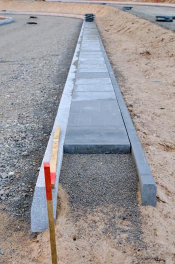 Carrolls how to order concrete Sidewalk