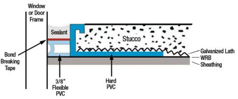 Stucco Casing Ez-bead 2-drawing