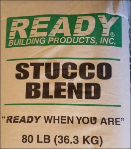 Ready Stucco Blend Pre-mixed Stucco