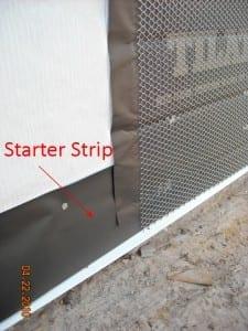 Stucco Lath Paper Starter Strip 6