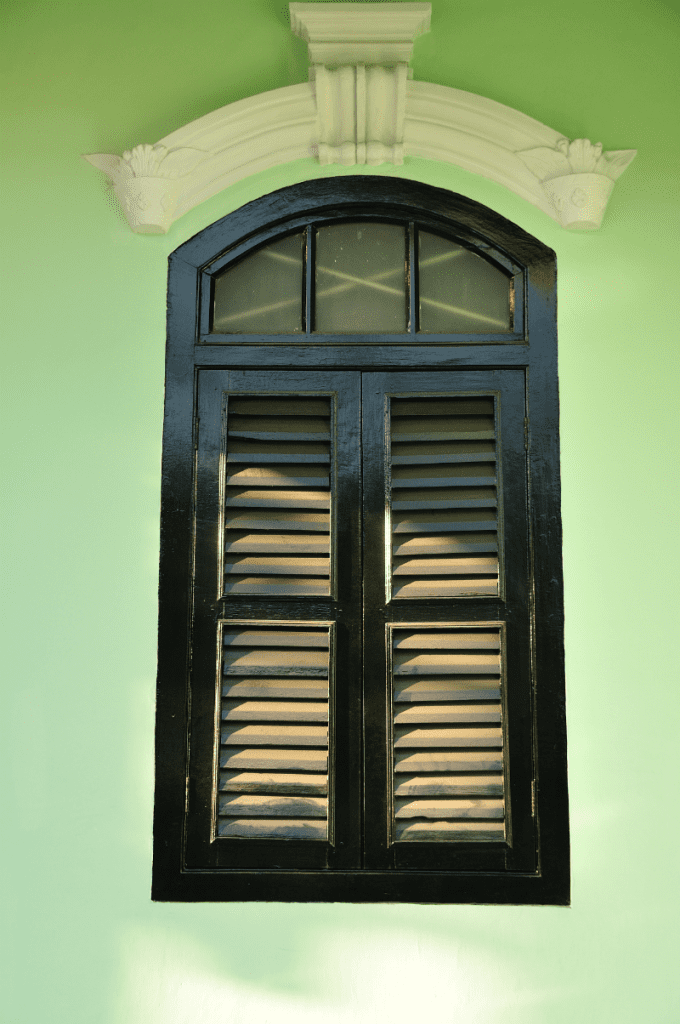 premixed stucco window