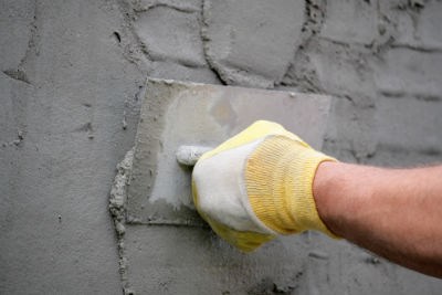 stucco cement wall