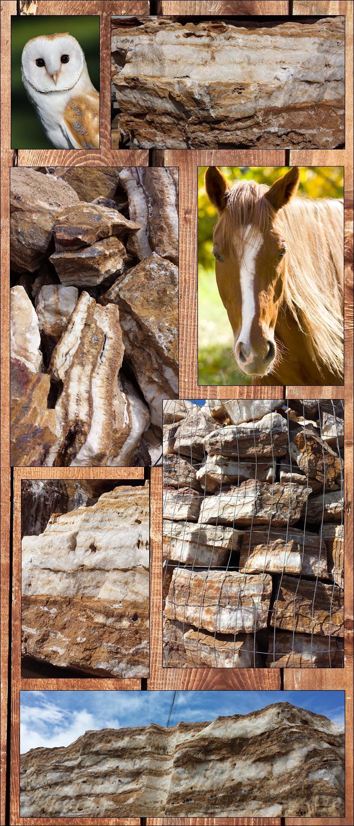 Zion Canyon swirled landscape Stone Southwest building rock