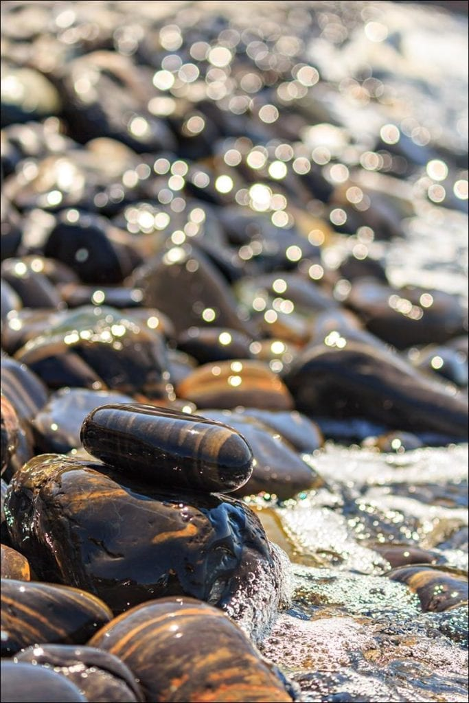 Bengal Striped Beach Pebble