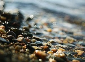 Mixed Color Beach Pebbles
