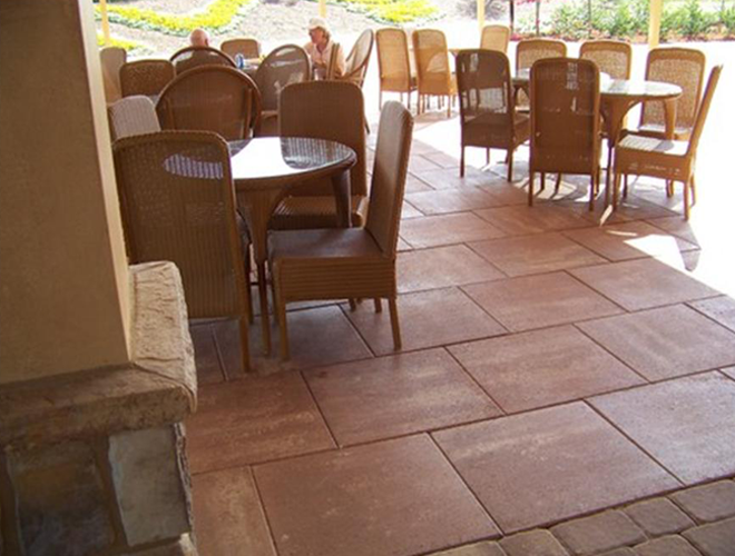 Lovely 18 Inch Patio Stone