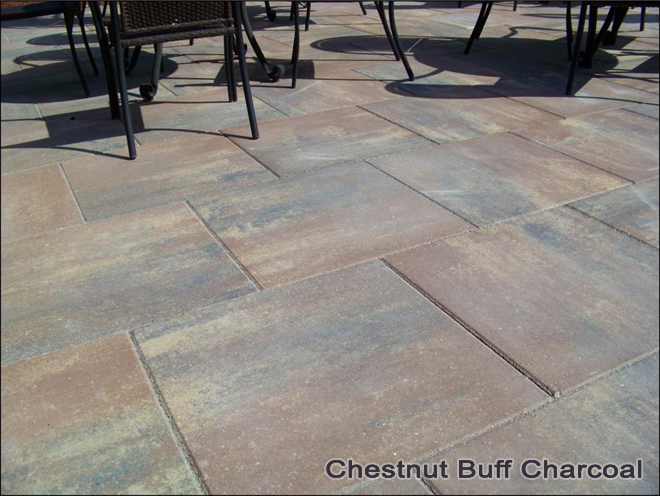 Clay Roof Tile 24 inch Patio Stone - concrete patio stones | Carroll's ...