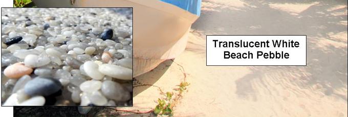Beach pebbles carroll 39 s building materials st for Beach house construction materials