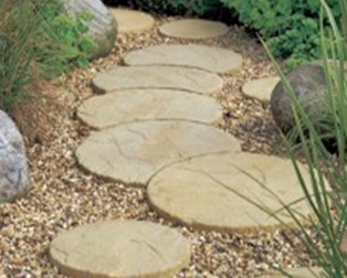 Moon Patio Stones And Round Patio Stones