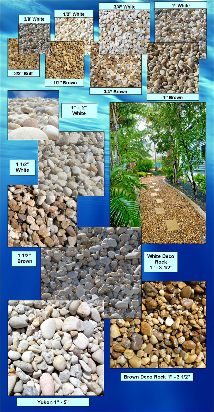 Gravel Sizes Chart : River gravel carroll s building materials bulk