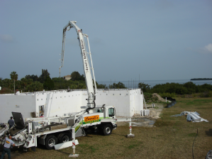 mobile concrete pumping