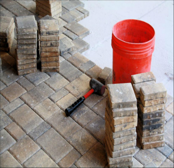 How To Lay Pavers Brick Patio Stone And