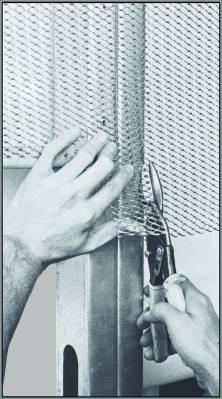 cutting Stucco Diamond Mesh lath