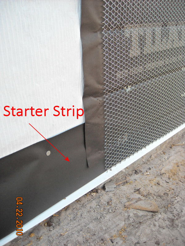 Stucco Lath Paper Starter Strips Carroll S Building
