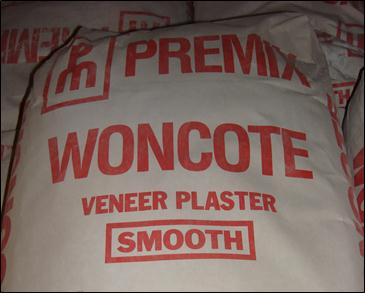 Woncote Smooth Veneer Plaster - Carroll's Building Materials (St