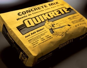 Quikrete Concrete in bags