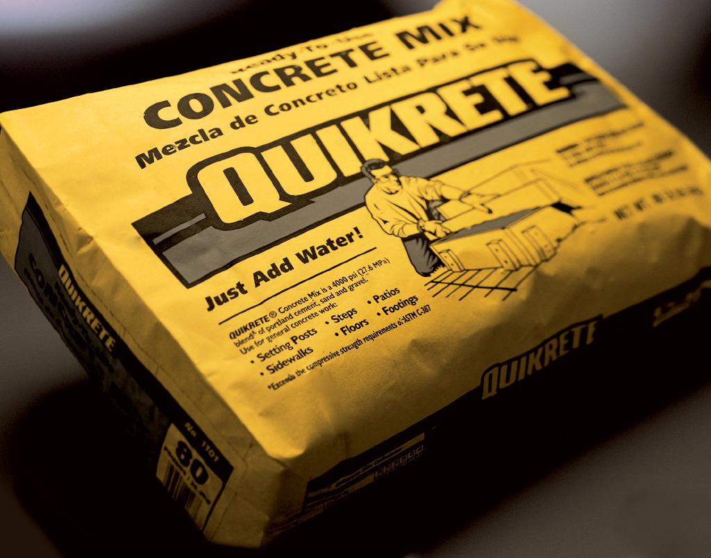 Quikrete Concrete Mix Concrete In Bags Carroll S