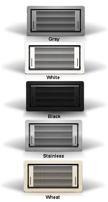 Smart Vents Dual Function Flood Vents Colors