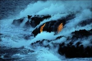 Black Obsidian Volcanic Glass