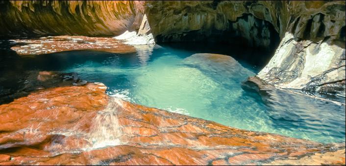 Zion Canyon Boulders