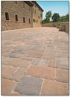 Paving Stones First Originated In Europe And Were Used To Pave Ancient  Rome, And Subsequently Throughout The Rebuilding Of Cities Post WWII. Now  Pavers Are ...