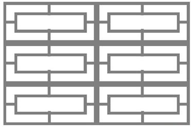 double rectangle block