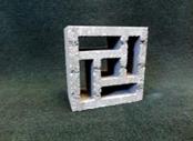 8 inch maze block