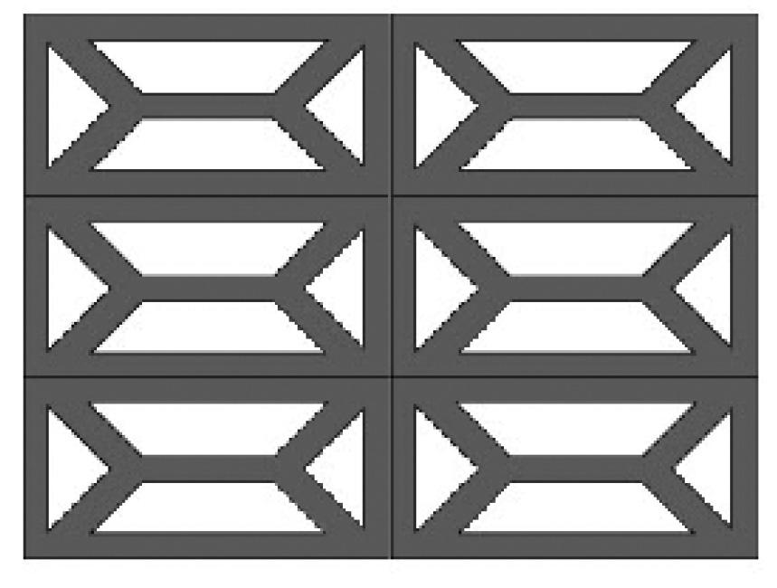double y pattern block