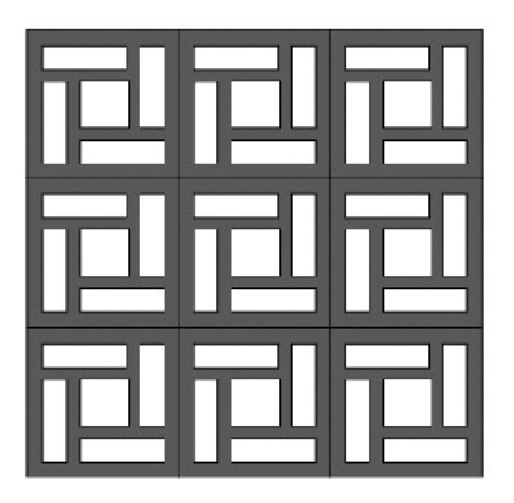 maze block pattern
