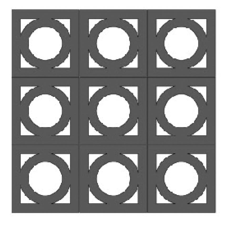 square peg block pattern