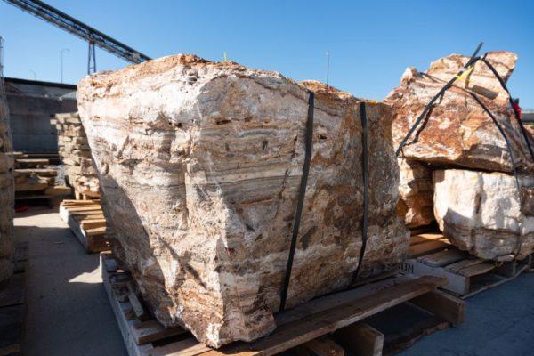 Zion canyon boulder